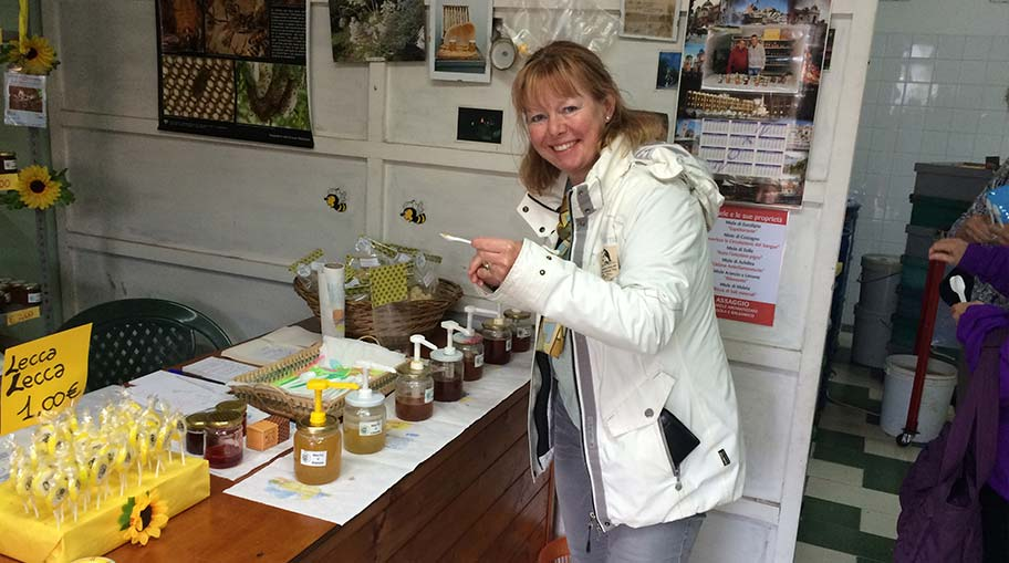 Sicily - tasting honey on the slopes of Mount Etna