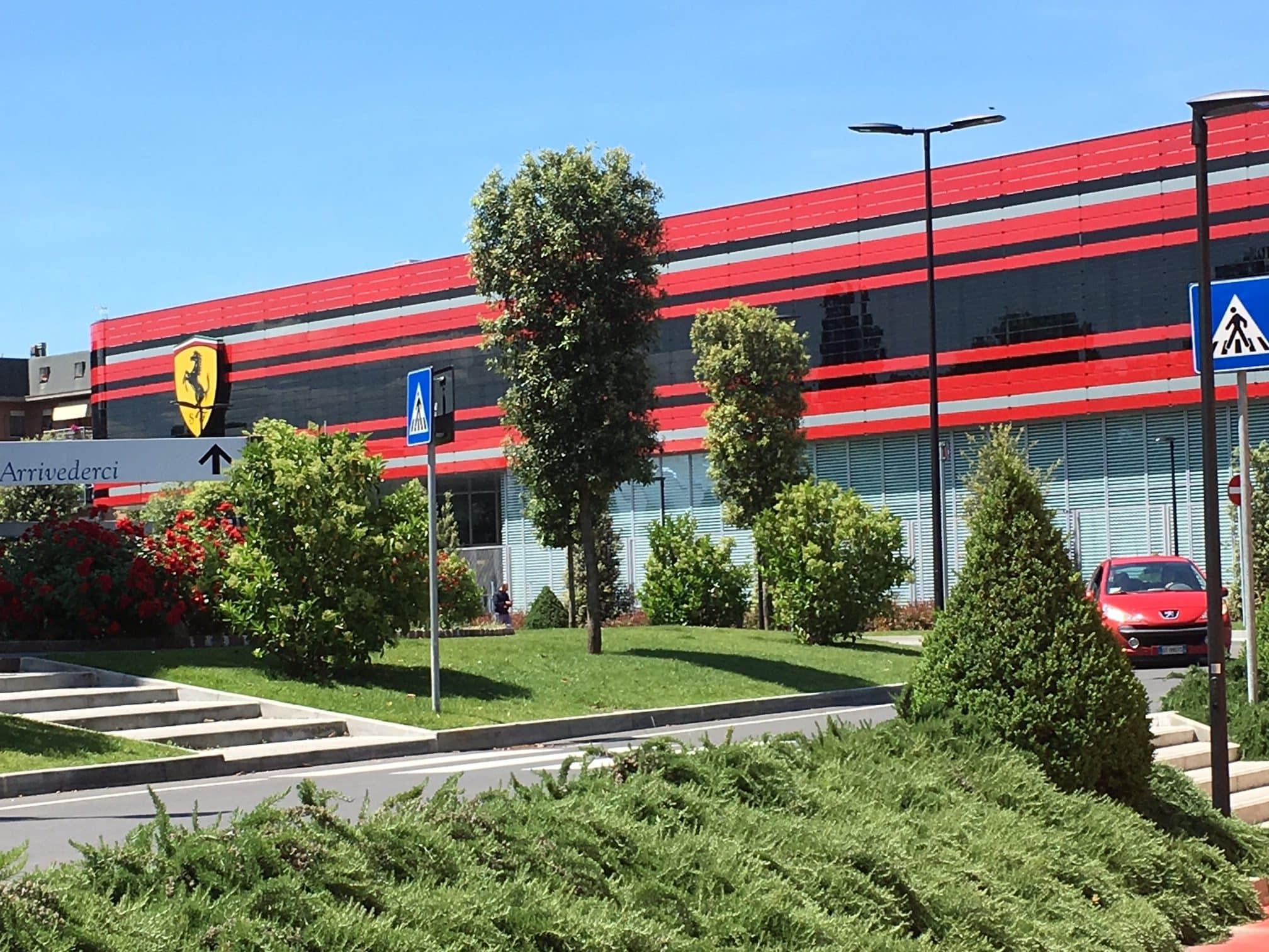 Ferrari Driving In Italy Based In Maranello Home Of Ferrari