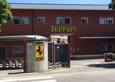Ferrari - factory entrance