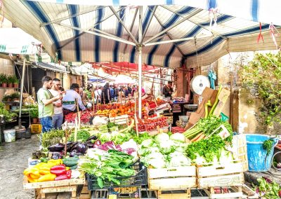 The colour and vibrancy of Palermo's food markets