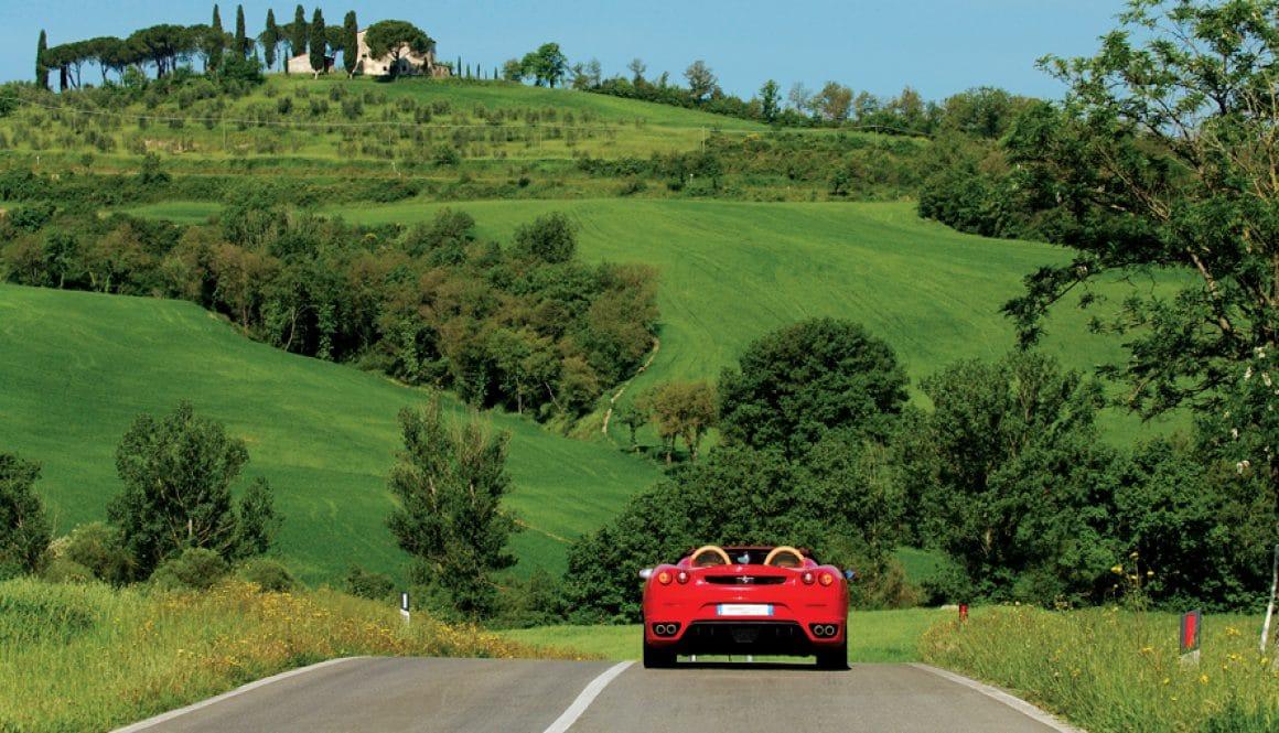 Drive a Ferrari in Italy