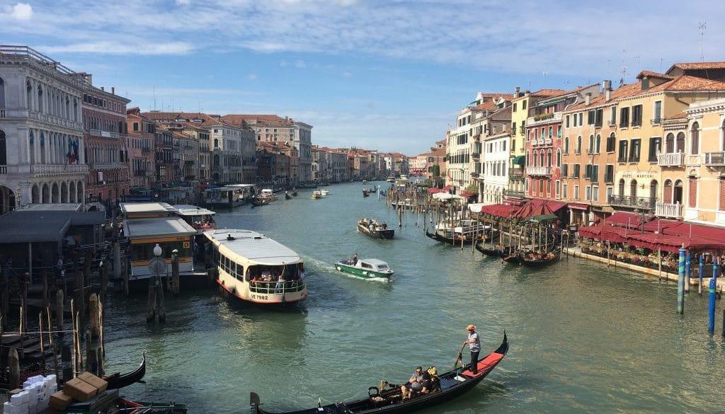 Grand Canal, Venice from Rialto www.grand-tourist.com