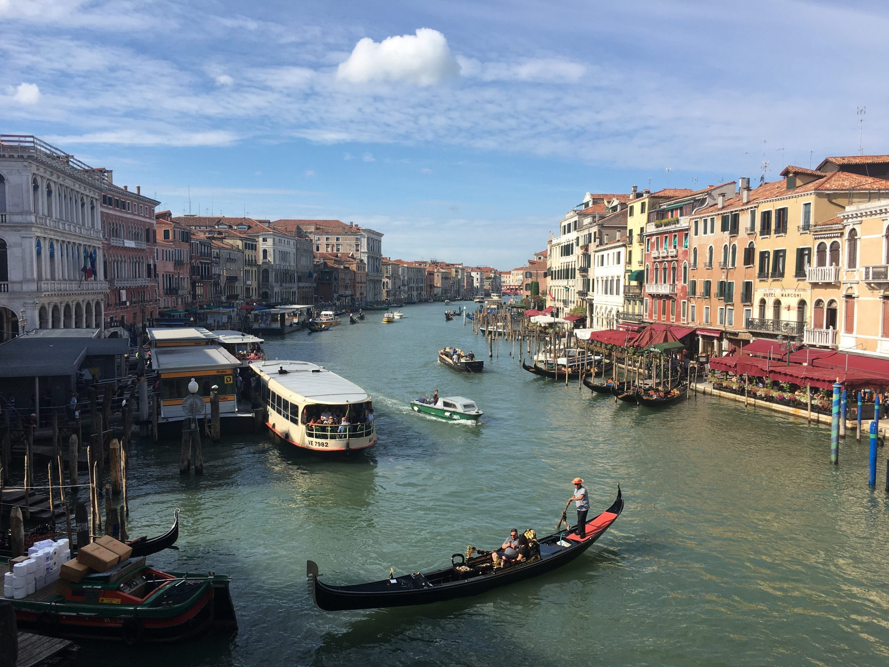 Venice and Veneto – a la carte