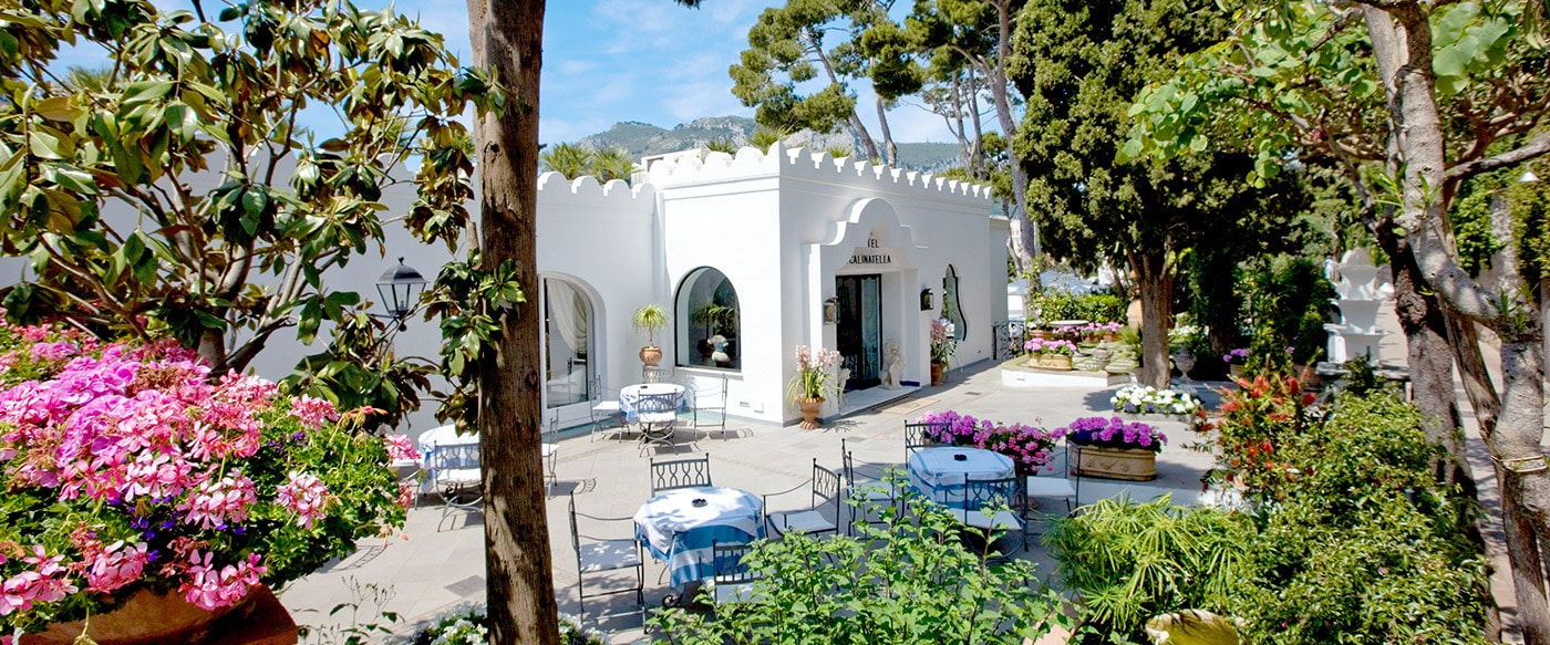 La Scalinatella, Capri - a romantic and magical hotel www.grand-tourist.com