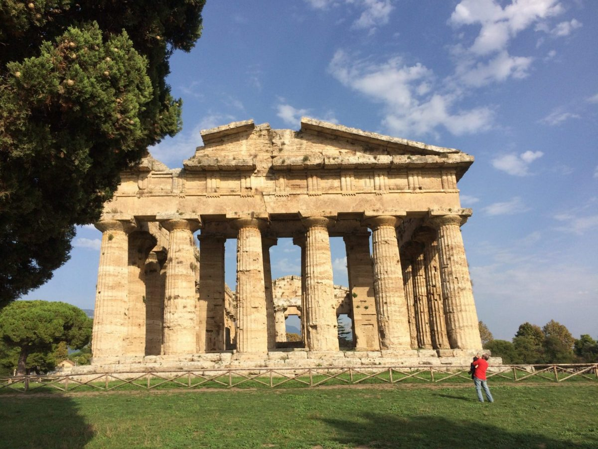 Paestum - Greek Temples photo by www.educated-traveller.com