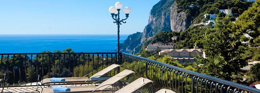 Scalinatella, Capri - panorama