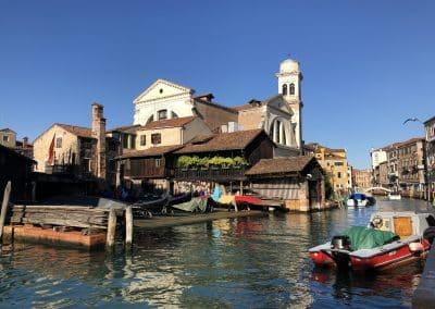 Squero San Trovaso - gondola repair yard, Venice