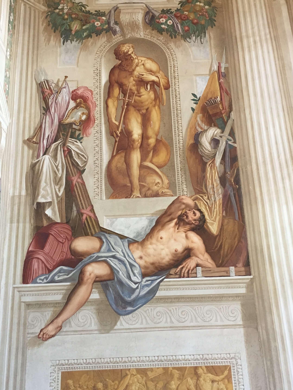 Truly exceptional Zelotti frescoes, Villa Emo, Veneto - a perfect Palladian villa