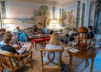 Writer's Retreat, Veneto,Italy - seminar session, Sept 2019