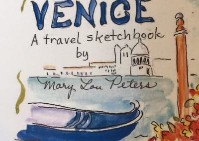 Venice - water colour by Mary Lou Peters