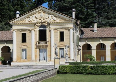 Villa Barbaro, Maser is one of Palladio's finest architectural gems