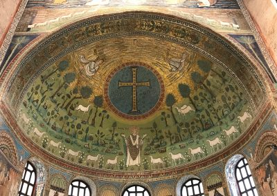 Sant'Apollinare in Classe, Ravenna, mosaics dating from 7th century.