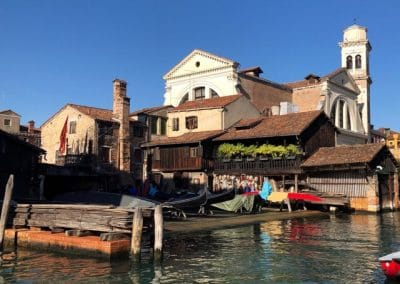 Squero San Trovaso, Gondola Repair Yard - Venice, Sept 2019