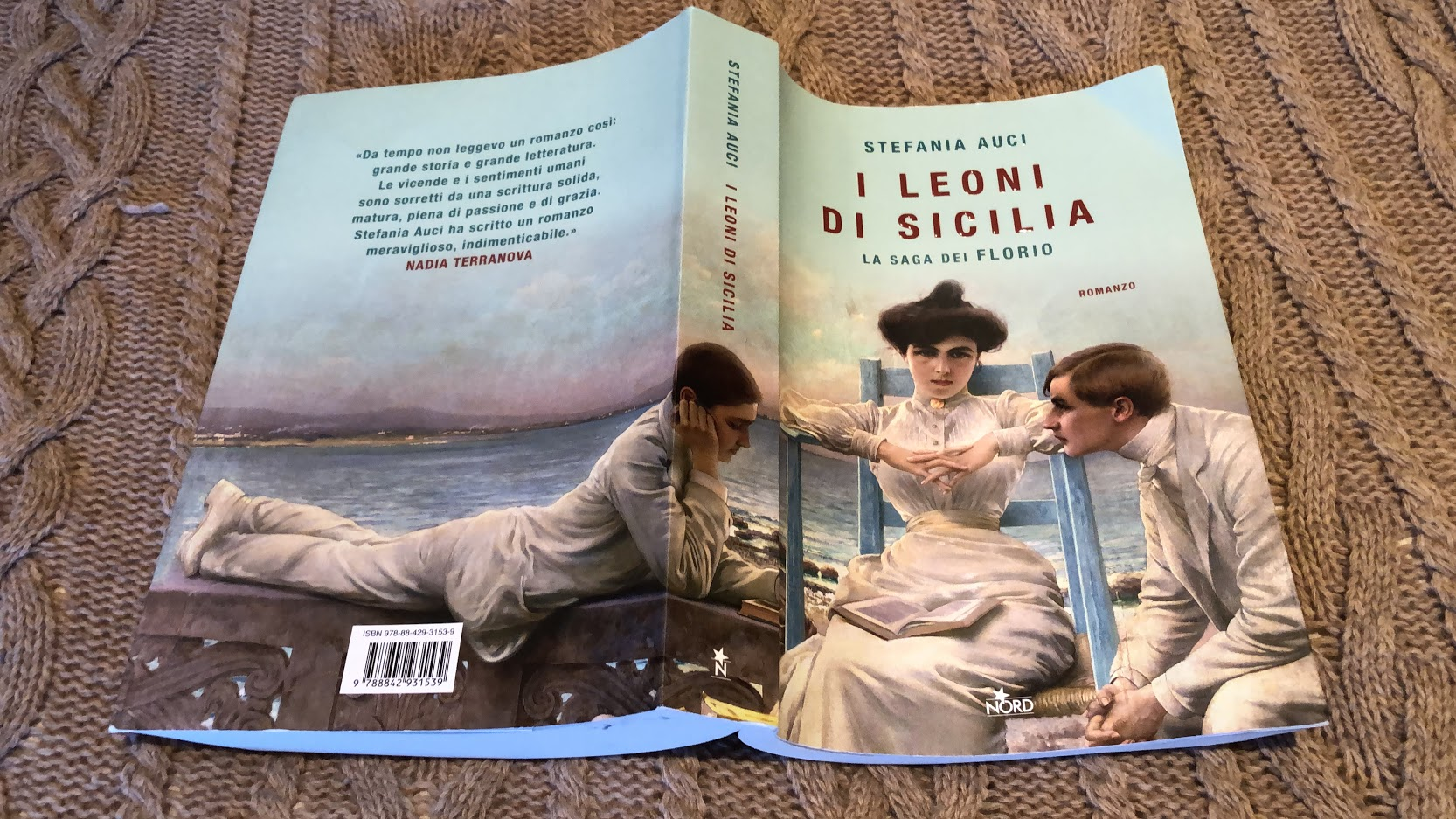 Book cover I Leoni di Sicilia - novel by Stefania Auci