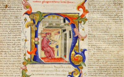 Dante – An early manuscript from Biblioteca Guarneriana, Italy
