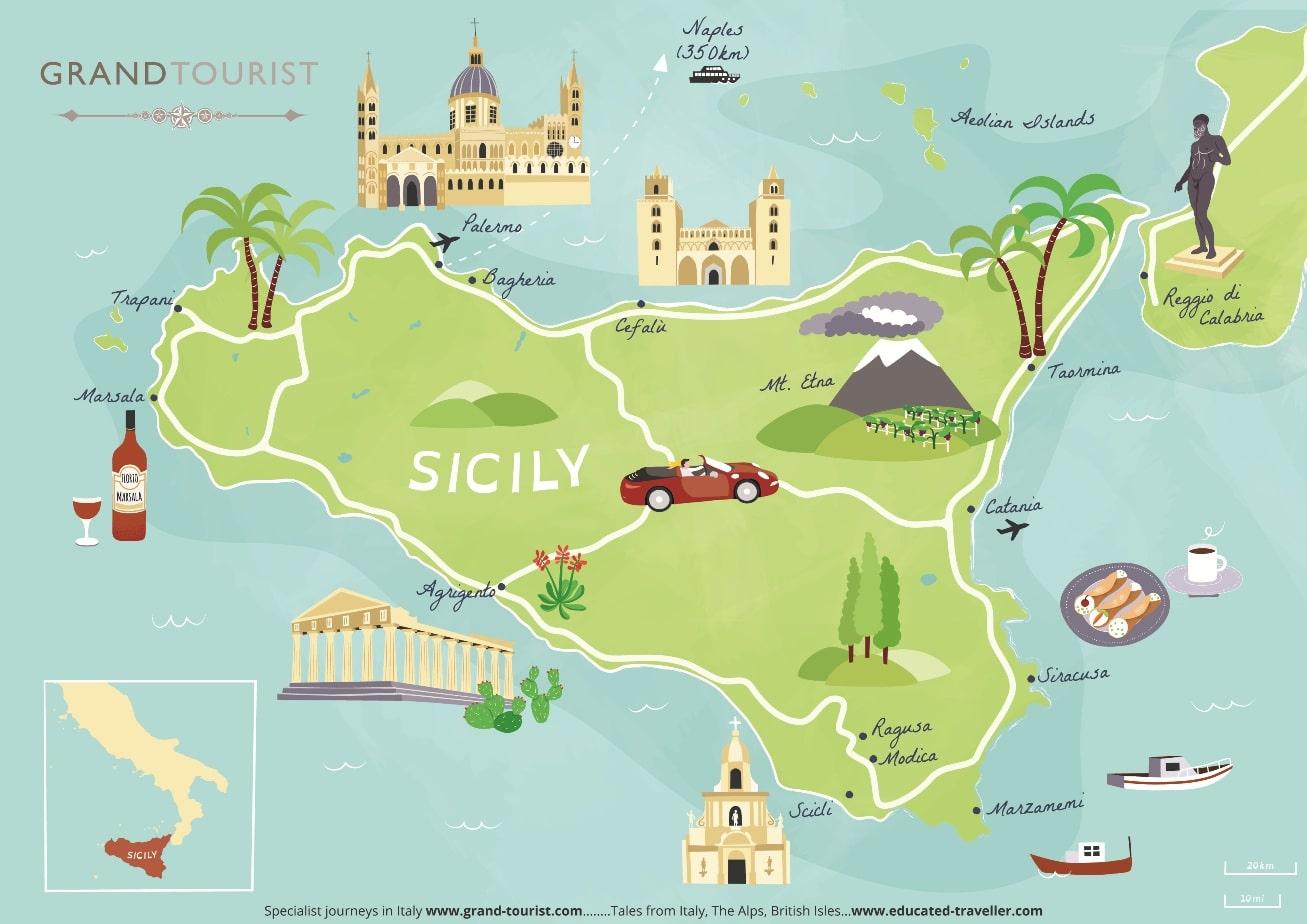 Sicily – La Sicilia:  Mediterranean jewel