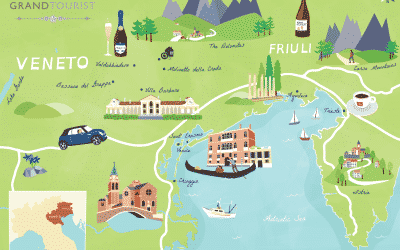 Veneto & Friuli Map - www.grand-tourist.com