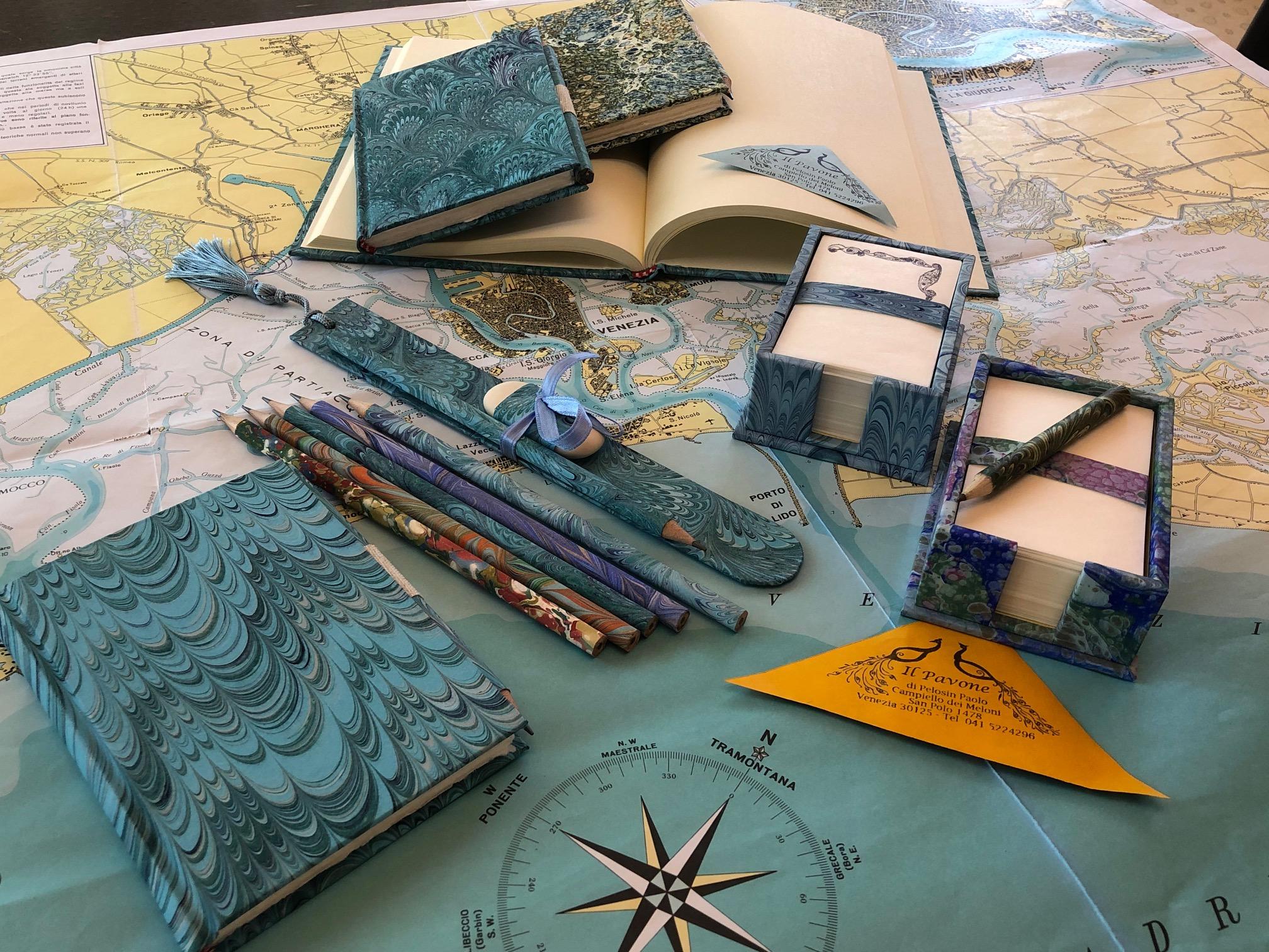 Il Pavone – the paper maker in Venice