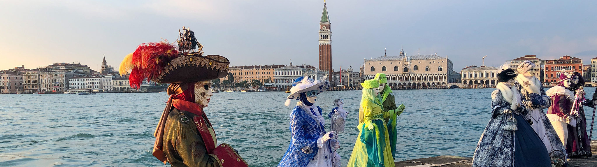 Venice – Carnival, Quarantine and Santa Maria Salute